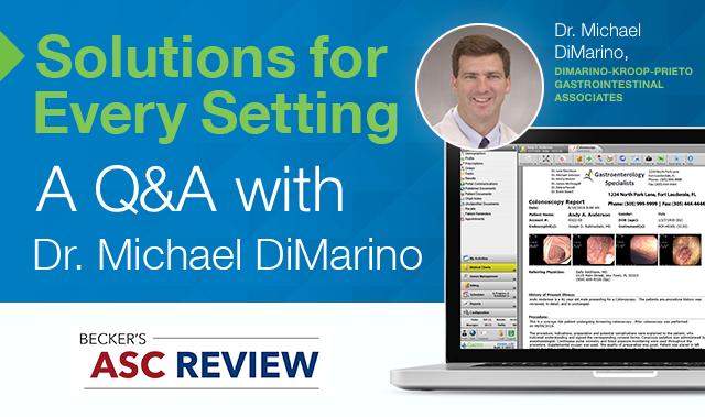 Interview with gastroenterologist Dr. Michael DiMarino on gMed